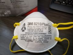 3M™ Particulate Respirator 8210Plus, N95  ** One Mask Only**