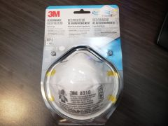 3M™ Particulate Respirator 8210, N95 **3 Mask Pack **