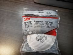 3M Particulate Respirator 8200/07023(AAD), N95 **3 Mask Per Pack**