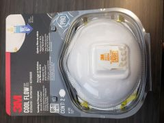 3M 2-Pack Disposable Mask