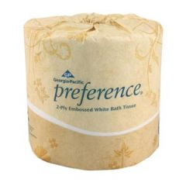 Georgia Pacific Preference® Embossed Bathroom Tissue