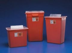Cardinal Health Large Volume Sharps Containers