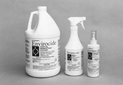 METREX ENVIROCIDE® HOSPITAL SURFACE & INSTRUMENT DISINFECTANT/CLEANER Instrument Cleaner, 24 oz Bottle & Sprayer, 12/cs