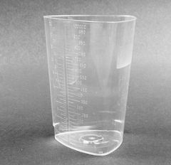 MEDEGEN TRIANGULAR MEASURE Triangular Measuring Container, Polypropylene, 200/cs