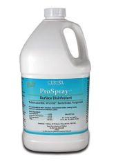 CERTOL PROSPRAY™ SURFACE CLEANER/DISINFECTANT Disinfectant Refill, 1 Gal, 4/cs (60 cs/plt)