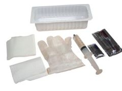 AMSINO AMSURE® FOLEY INSERTION TRAY Foley Insertion Tray, Prefilled 30cc Syringe of Sterile Water, 20/cs (50 cs/plt)