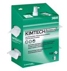 "Kimberly Clark Lens Cleaning Station Kimwipes EX-L Lens Cleaning Station, White, 4½"" x 8½"", 4/cs"