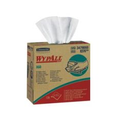 "KIMBERLY-CLARK WYPALL® WIPERS WYPALL Hydroknit™ Wipers, 9.1"" x 16.8"", 4-Ply, White, 126/bx, 10 bx/cs (24 cs/plt)"