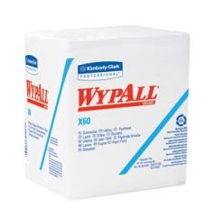 "KIMBERLY-CLARK WYPALL® WIPERS WYPALL X60 Hydroknit™ Wipers, 12½"" x 12"", 76/pk, 12 pk/cs (48 cs/plt)"