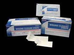 "DUKAL WOUND CLOSURE STRIPS Wound Closure Strip, Sterile, ½"" x 4"", 6/pk, 50 pk/bx, 4 bx/cs"