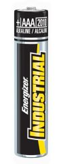 Energizer Industrial Battery   Alkaline *DISC* Battery, AAA, Alkaline, Industrial, 4/pk, 6 pk/bx