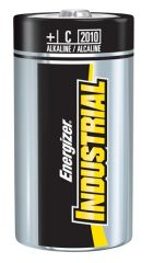 Energizer Industrial Battery   Alkaline *DISC* Battery, C, Alkaline, Industrial, 12/bx