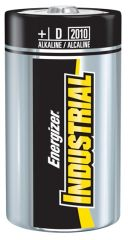 Energizer Industrial Battery   Alkaline *DISC* Battery, D, Alkaline, Industrial, 12/bx