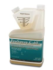 CERTOL PROSPRAY™ C-60 Meter Dose Bottle, 32 oz, Makes 8 Gal, 12btl/cs (Item is considered HAZMAT and cannot ship via Air or to AK, GU, HI, PR, VI)