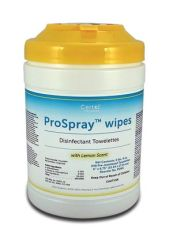 "CERTOL PROSPRAY™ WIPES Disinfectant Wipes, 6"" x 6¾"", 240/canister, 12 can/cs"