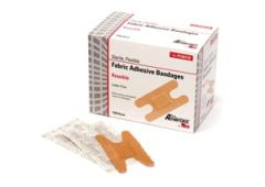 "PRO ADVANTAGE® FABRIC ADHESIVE BANDAGE Adhesive Bandage, Knuckle Bands, 1½"" x 3"", 100/bx, 12 bx/cs"