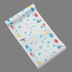 """TIDI SMOOTH EXAM TABLE BARRIER Exam Table Paper, 18"""" x 225 ft,  Pediatric Print, Under The Sea, Smooth, 6/cs"""