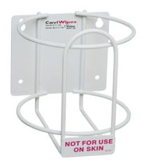 METREX CAVIWIPES™ DISINFECTING TOWELETTES Accessories: Wall Bracket For CaviWipes, 12/cs (24 cs/plt) (091266)