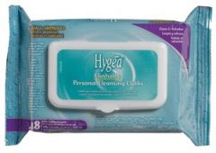 """PDI HYGEA® FLUSHABLE PERSONAL CLEANSING CLOTHS Flushable Personal Cleansing Cloths, 5.5"""" x 7"""", 48/pk, 12 pk/cs (90 cs/plt) (US Only)"""