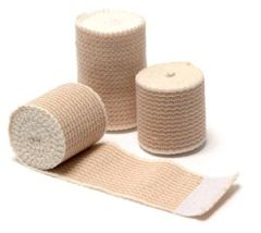 "PRO ADVANTAGE® ELASTIC BANDAGES Elastic Bandage, Knit, Self Closure, 3"" x 5 yds, 10/bx, 5 bx/cs (100 cs/plt)"