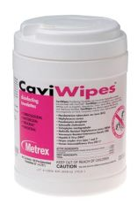 METREX CAVIWIPES™ DISINFECTING TOWELETTES CaviWipes, 160 Wipes, 12 canisters/cs (40 cs/plt) (091263)