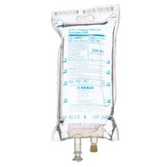 B Braun Sodium Chloride Injections Usp Sodium Chloride Injections, 0.9%, 250mL, EXCEL® Container (Rx), 24/cs (56 cs/plt)  **For Licensed Medical Practitioners Only**