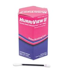 BEUTLICH HURRIVIEW II® TWO-TONE PLAQUE INDICATING SNAP -N- GO™ SWABS Snap -n- Go™ Swab, Unit Dose, Individually Wrapped, 72/bx