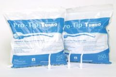 MEDICOM PRO-TIP® DISPOSABLE AIR/WATER SYRINGE TIPS Turbo Air/ Water Syringe Tips, 250/bg, 6 bg/cs (Not Available for sale into Canada)