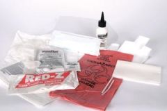 MEDEGEN SOLIDIFIERS Red-Z Deluxe Emergency Response Kit, Polybagged, Up to 1.25 Gallon, 6/cs