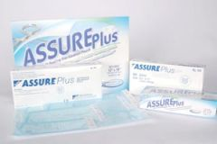"SULTAN ASSURE PLUS™ STERILIZATION POUCHES Sterilization Pouch, 5½"" x 13"", 200/bx, 12 bx/cs"