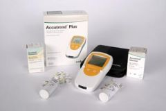 ROCHE ACCUTREND® PRODUCTS Accutrend Glucose Test Strips, CLIA Waived, 25 strips/bx (Minimum Expiry Lead is 120 days)