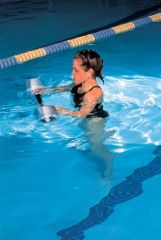 HYGENIC/THERA-BAND AQUATIC PRODUCTS Instructional Swim Bar with Padded Grip, Aquatic Products Supplied Individually, 4 ea/cs (040090) (US Only)