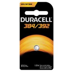DURACELL® MEDICAL ELECTRONIC BATTERY Battery, Silver Oxide, Size 384/392, 1.5V, 6/bx, 6 bx/cs (UPC# 66140)