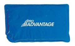 "Pro Advantage® Reusable Cold Packs Cold Pack, Vinyl, ½ Size, 7"" x 11"", Blue (021387)"