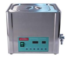 BRANDMAX TRI-CLEAN ™ ULTRASONIC CLEANERS Ultrasonic Cleaner with Heat, 20 Liter, Capacity: 20L/5.28 Gal, Includes Stainless Steel Hanging Basket