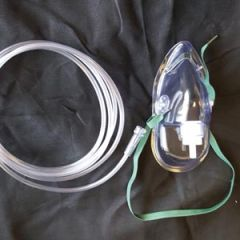 MED-TECH OXYGEN MASKS Oxygen Mask, Simple, Medium Concentration, Adult, Elongated, 7' Star Tubing, 50/cs (40 cs/plt)