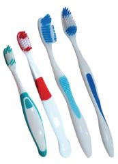MYDENT DEFEND TOOTHBRUSHES Child Toothbrush, Assorted Colors, 72/bx