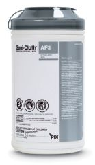 "PDI SANI-CLOTH® AF3 GERMICIDAL DISPOSABLE WIPE AF3 Germicidal Disposable Wipe, X-Large, 7½"" x 15"", 65/canister, 6 can/cs (40 cs/plt) (091238) (US Only)"