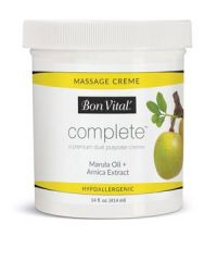 Hygenic/Performance Health Bon Vital® Complete™ Massage CrÈme Complete Massage Crème, 14 oz Jar, 6/cs (Cannot be sold to retail outlets and/ or Amazon) (US Only)