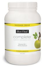 Hygenic/Performance Health Bon Vital® Complete™ Massage CrÈme Complete Massage Crème, 1 Gallon, 4/cs (Cannot be sold to retail outlets and/ or Amazon) (US Only)